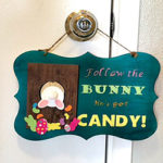 DIY Easter Plaque - Free Template