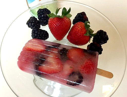 Fruit Filled Ice Pops – Dairy & Nut Free
