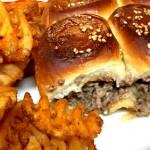 Cheeseburger Sliders - Super Easy!