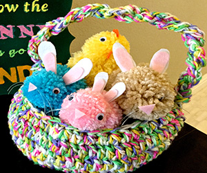 Sherbet Easter Basket