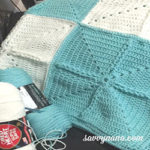 Spring Throw Blanket - Free Pattern