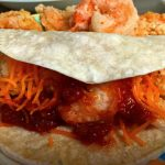 Crispy Salted Pepper Shrimp Tacos