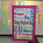 DIY Subway Art Mother's Day Card - Free Printable!