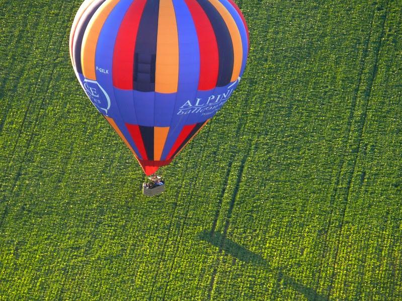 Ballooning Over Chateau de Fontainbleau