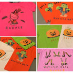 DIY Halloween T-Shirts - Easy & Cheap