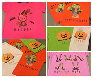 DIY Halloween T-Shirts – Easy & Cheap
