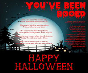 You've Been Booed! Halloween 2019 Free Printables