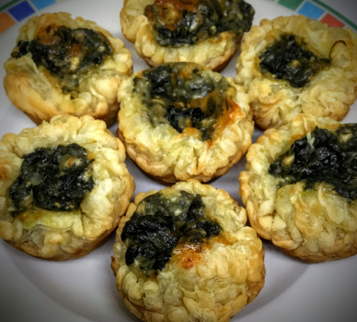 Spinach Puffs & Other Appetizer Recipes for Your New Year's Eve Party