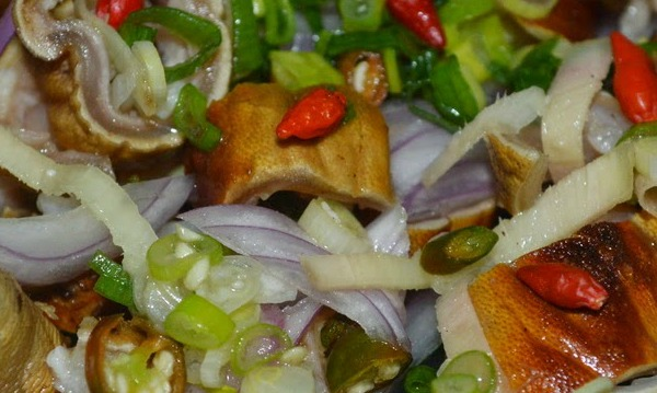 Kilawin na Kambing (Goat in Vinegrette) Filipino Recipe!!!
