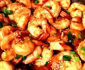 Honey Sesame Seed Shrimp