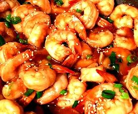 Honey Sesame Shrimp
