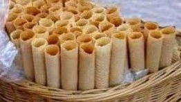 Barquillos – Filipino Rolled Cookies