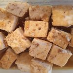 Fried Tofu with Asian Sauce