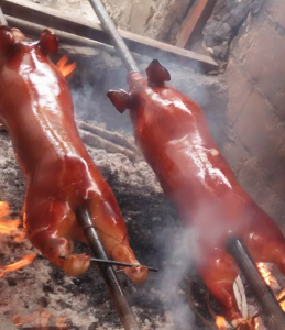 Lechon Baboy (Roasted Pig) Filipino Recipe!