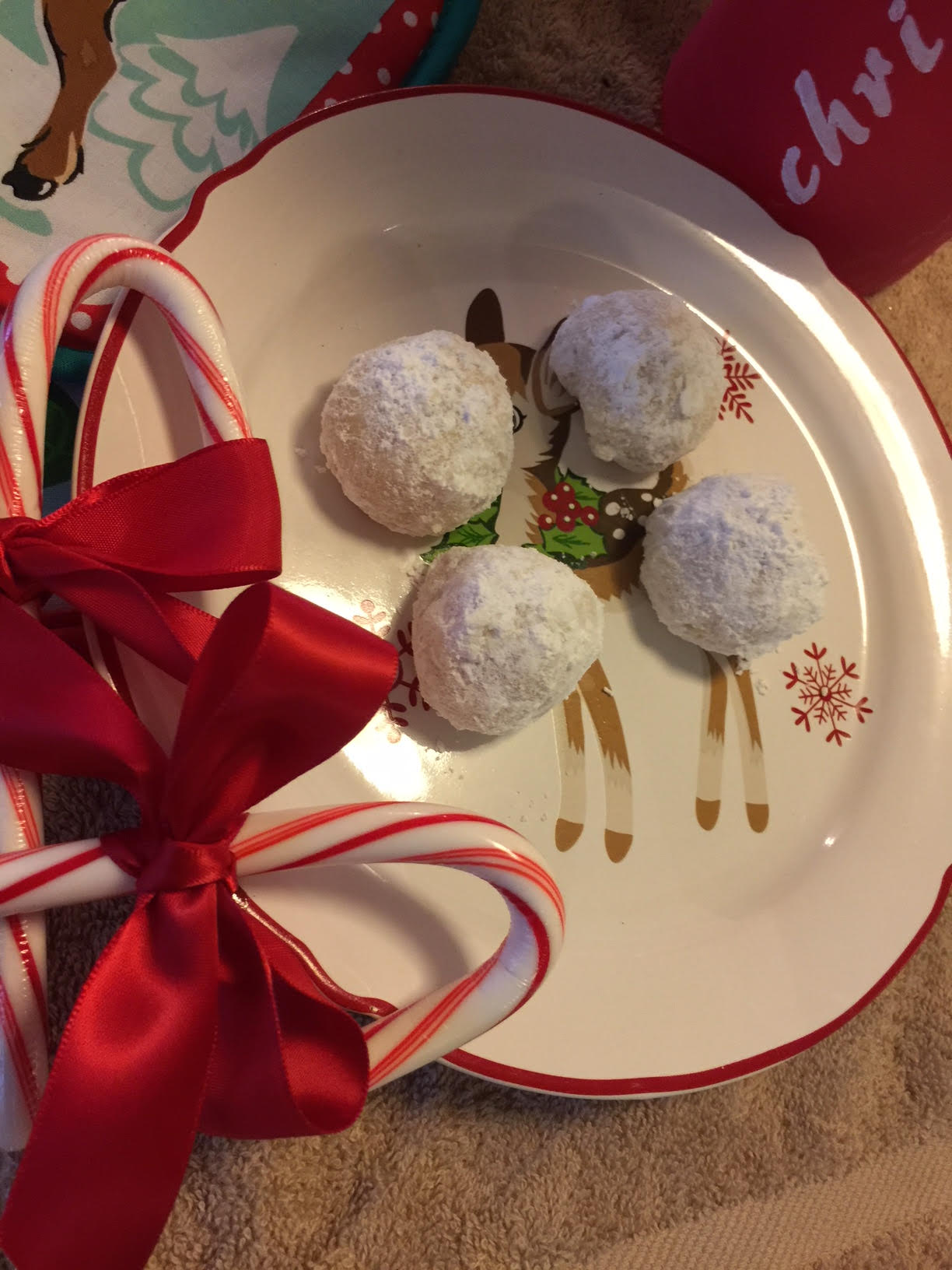 Snowball Cookies – Without Nuts