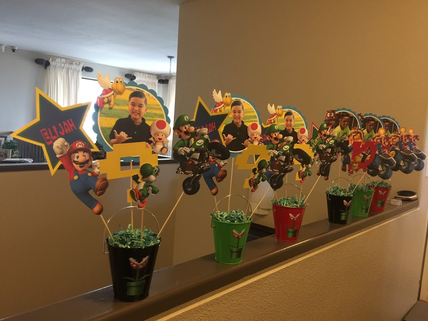 Mario Kart Themed Birthday Party