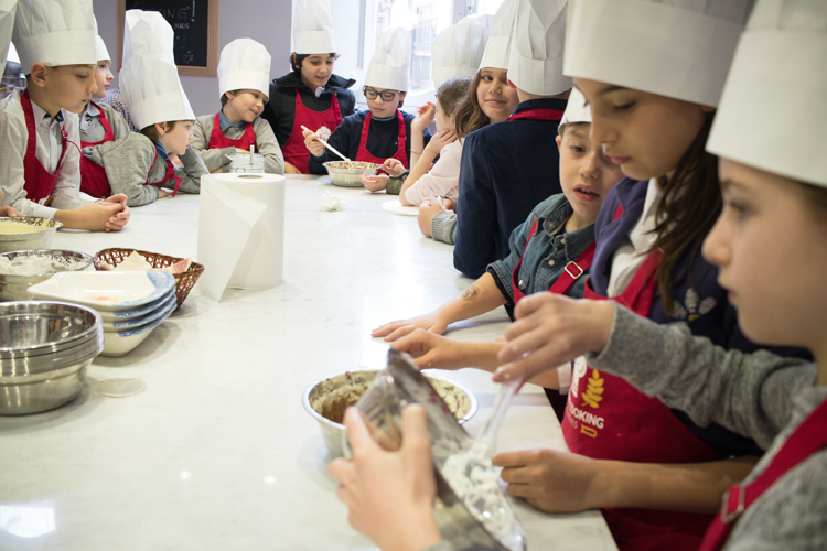 Children's Cooking Class In Italy