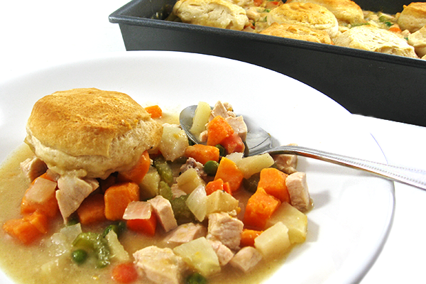 Guilt-free Turkey Pot Pie