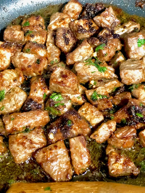 Butter Steak  Cubes Keto Friendly Recipe