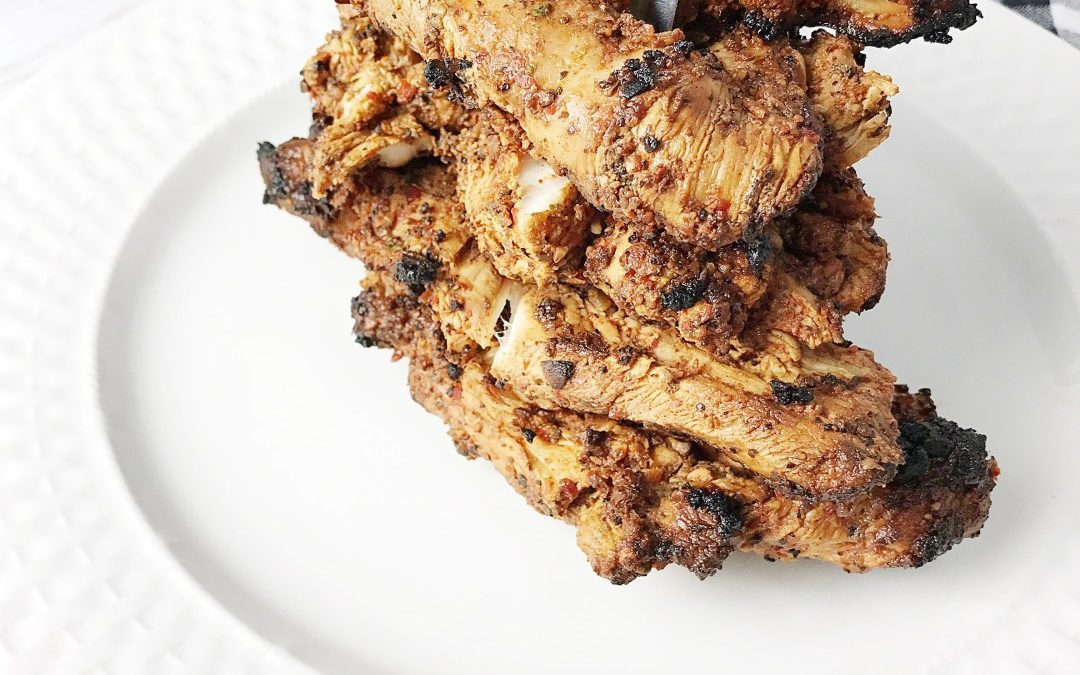 Easy and Healthy Seasoned Grilled Chicken Breasts