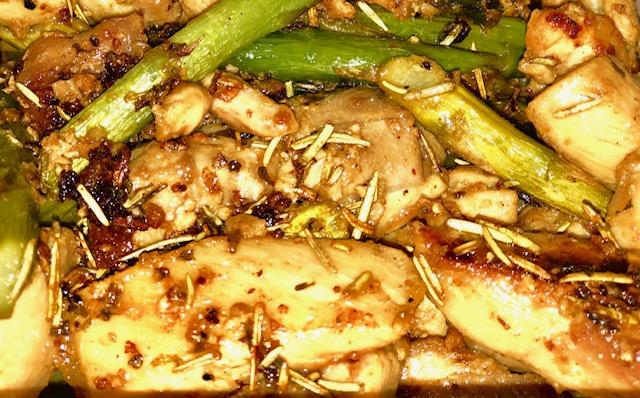 Keto Friendly Chicken & Asparagus Recipe