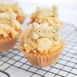 Homemade Peanut Butter Pupcakes