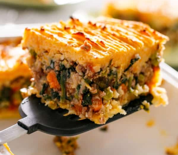Beef and Pumpkin Shepherd's Pie