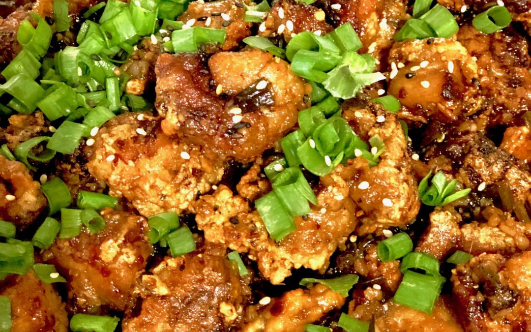 Asian Garlic Fried Chicken