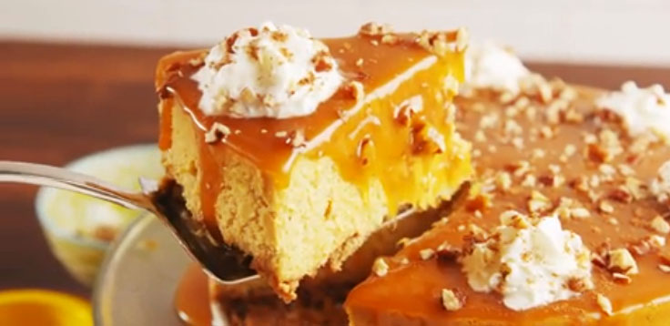 Best-Ever Pumpkin Cheesecake