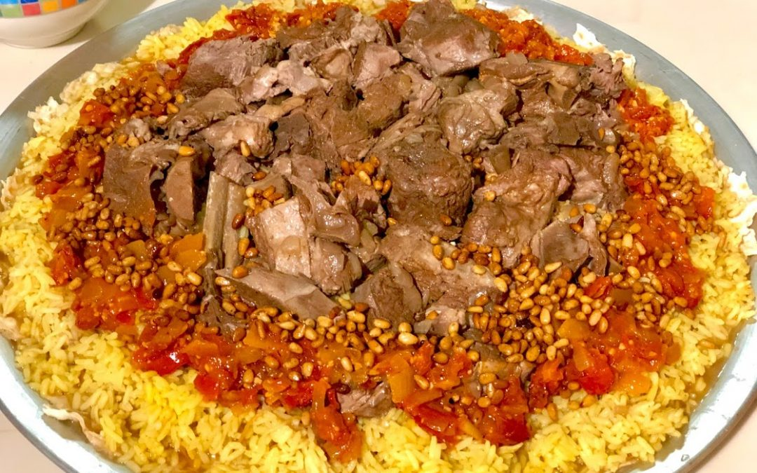 Mansaf – Middle Eastern Lamb Dish