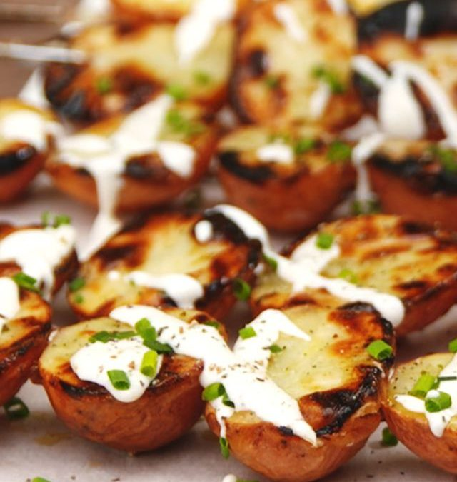 Barbecued Ranch Potatoes