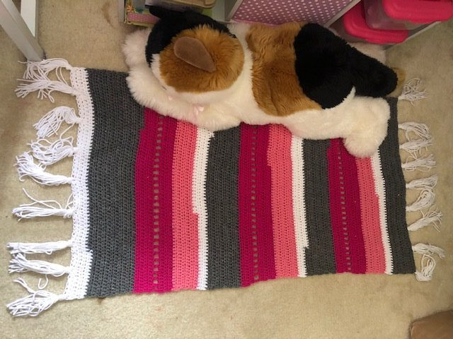 Crocheted Rug – Free Pattern