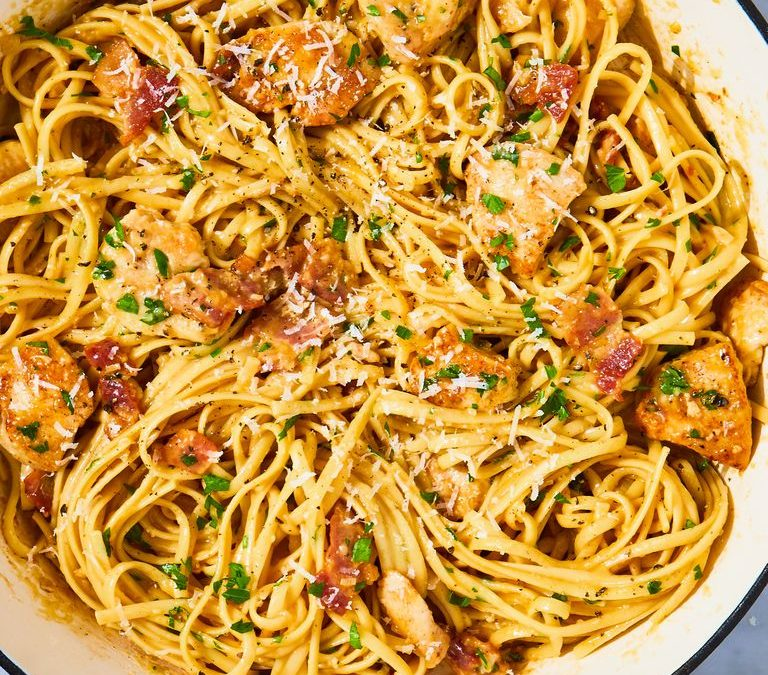Best-Ever Chicken Carbonara