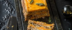 Chestnut, squash and sweet potato loaf