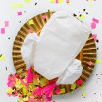 DIY CONFETTI-STUFFED TURKEY