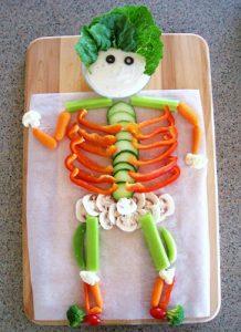 Veggie Skeleton