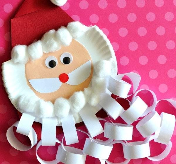 SANTA BEARD CHRISTMAS COUNTDOWN CRAFT