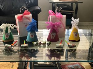 DIY Party Hats & Giant Blowers