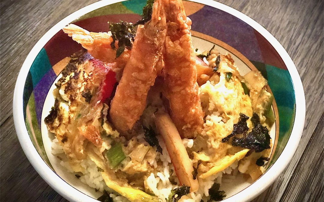 Tendon – Shrimp Tempura Rice Bowl