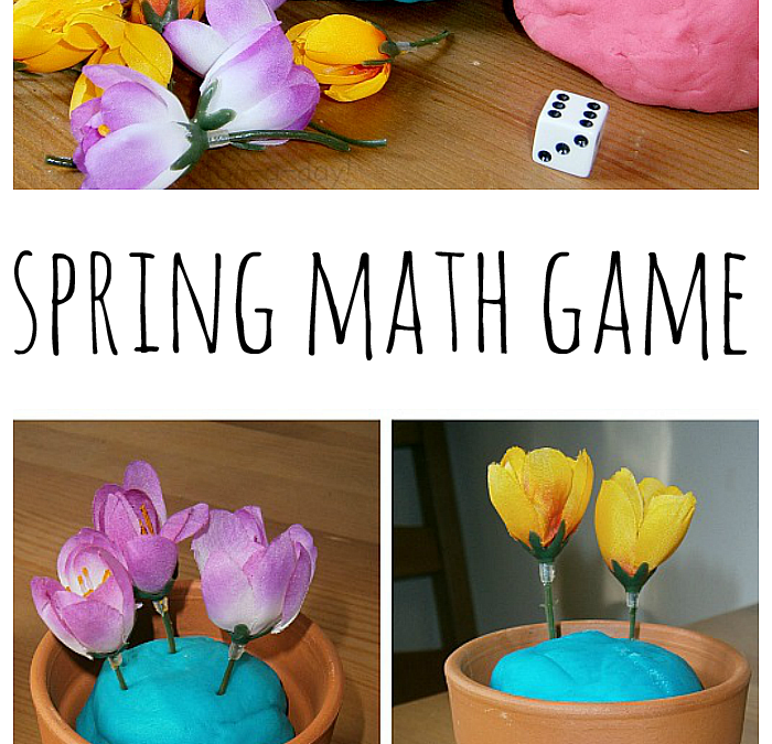 Simple and Engaging Plant the Flowers Spring Math Game for Kids