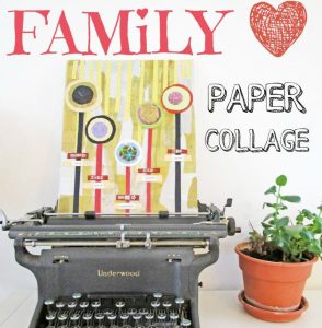DIY Family Collage