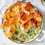 Herby spring chicken pot pie
