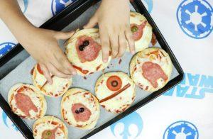Star Wars Mini Pizzas!