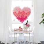 Hanging Flower Heart DIY