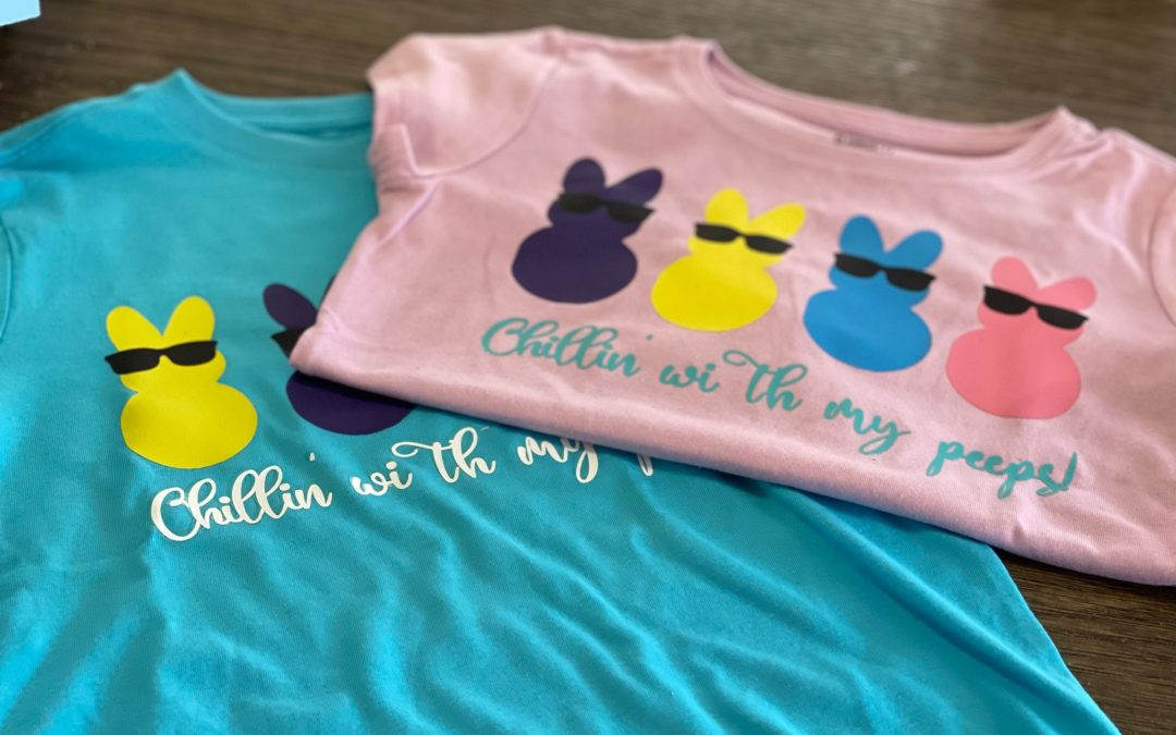 DIY Easter T-Shirts