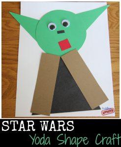 Star Wars Yoda Shape Craft
