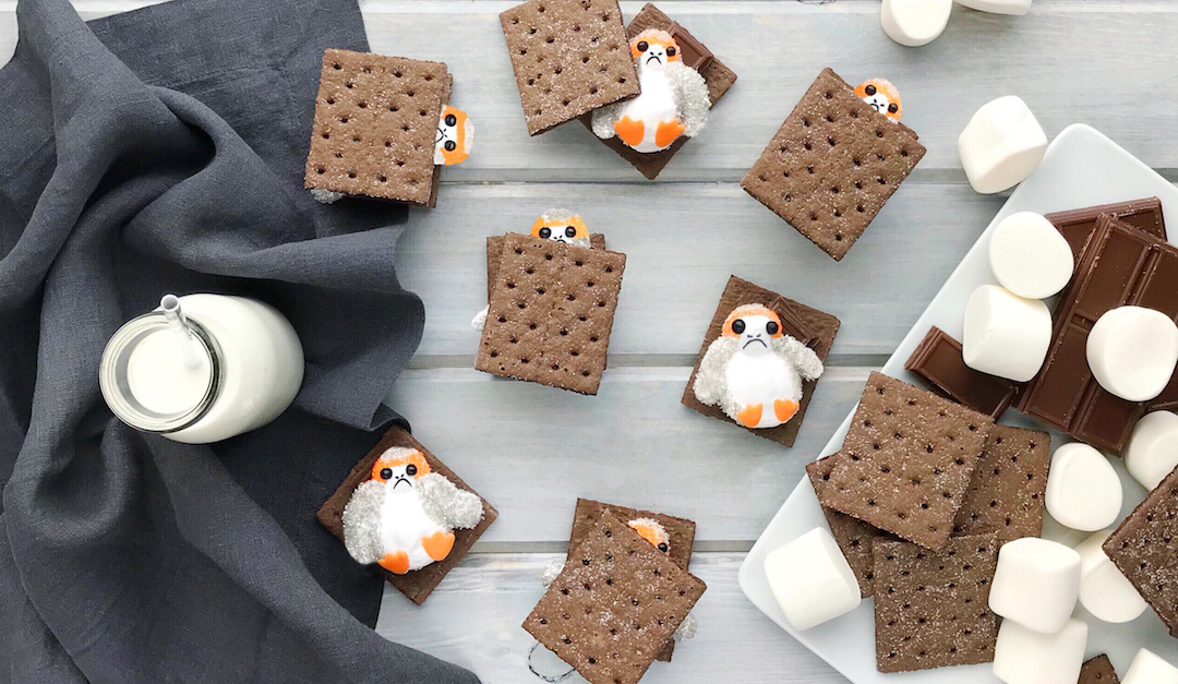 Want to Have S'more of These Porg S'mores