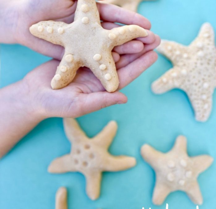 Salt Dough Starfish Kids Craft