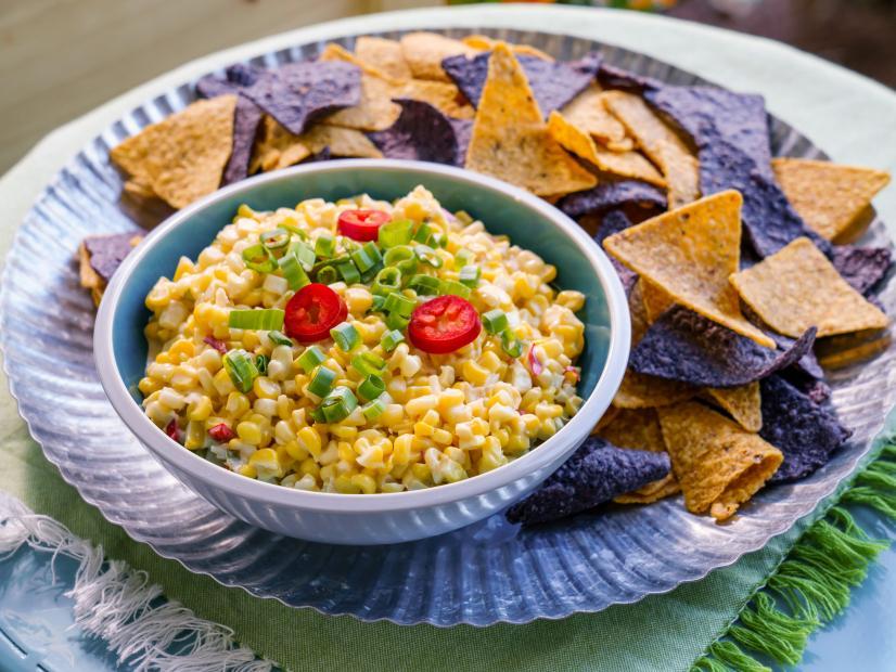 Creamy Corn and Chile Dip