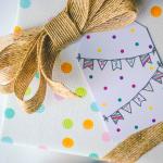Free Printable: May Day Gift Tags